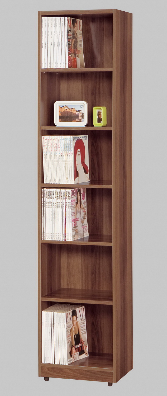 CM110022 1.5尺淺胡桃開放式書櫃