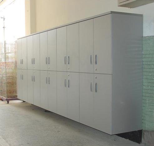 木製系統牆櫃09-004