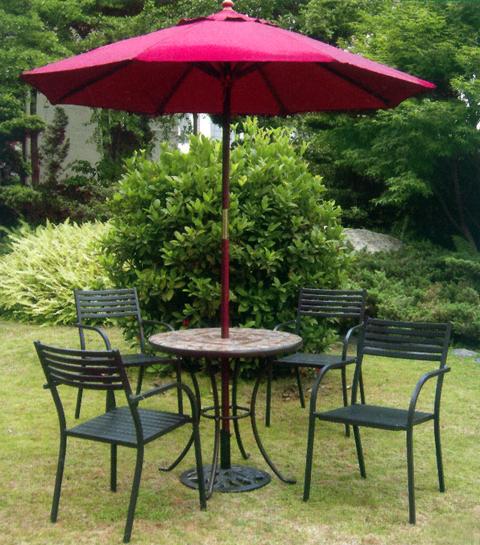 戶外餐桌椅09-001