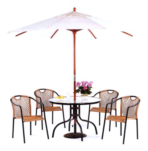 戶外餐桌椅09-002