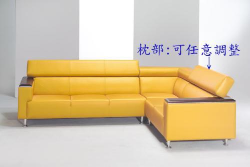 L型沙發09-004