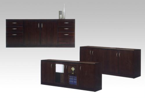 主管桌矮櫃09-007